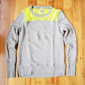 VS Neon Mesh Open-Back Sweatshirt - XS